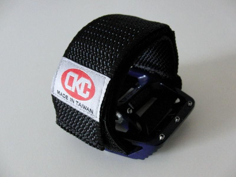Hold Fast Fixed Gear Pedal Foot Straps - black CKC Pedals and attacks, Foot stretchers