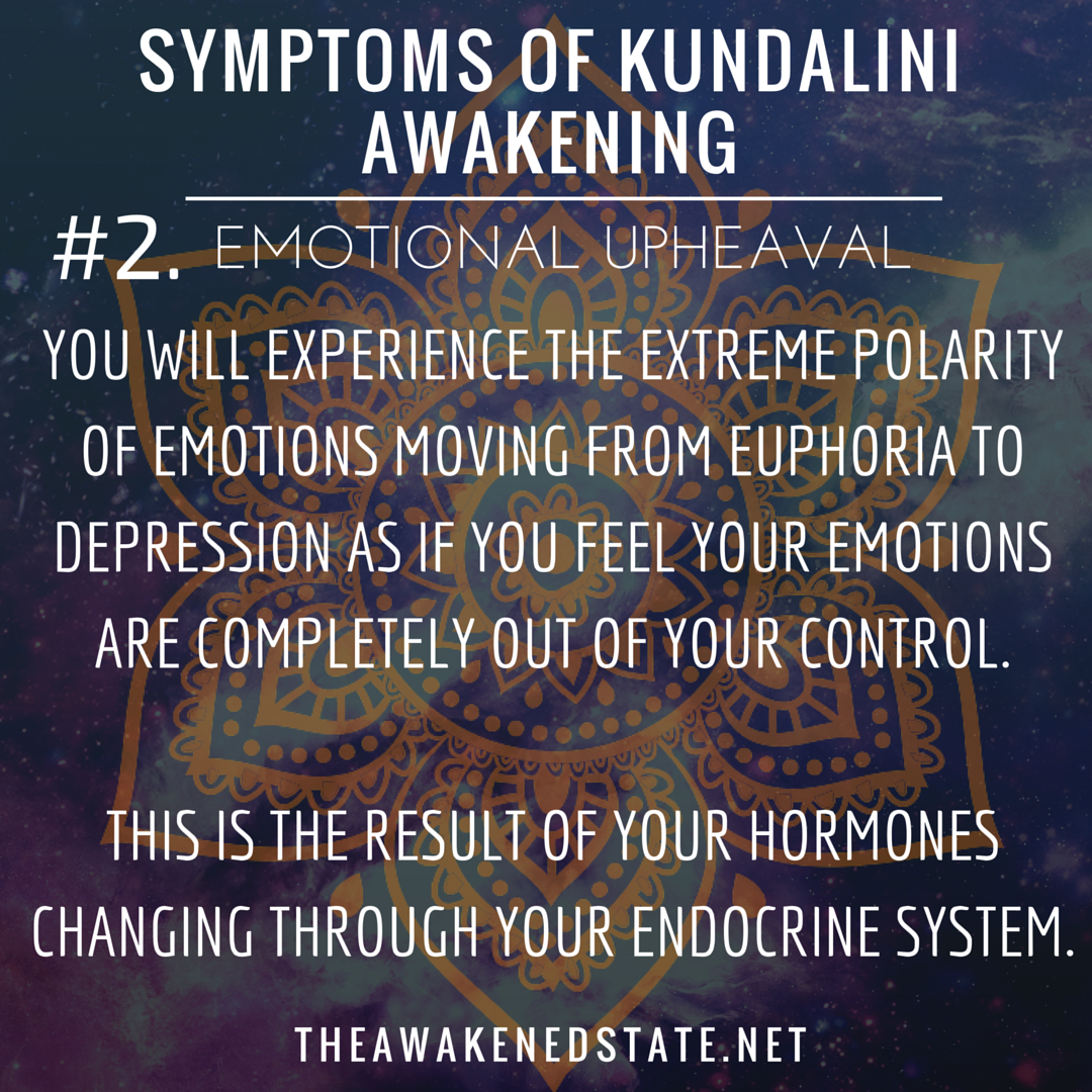 Symptoms of Awakening | Endocrine system and Roller coasterKundalini Rising Symptoms