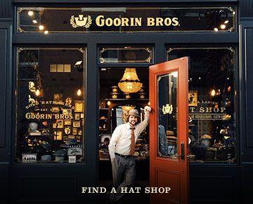 Men S And Women S Hats Fedoras Cloches Goorin Bros Hat Shop Established 1895 San Fran For Dad Goorin Hat Shop Fedora Hat Women