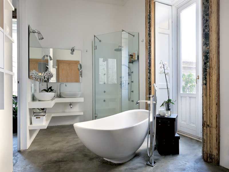 Vasche Da Bagno Stile Inglese : Idee di vasche da bagno in vetroresina image gallery