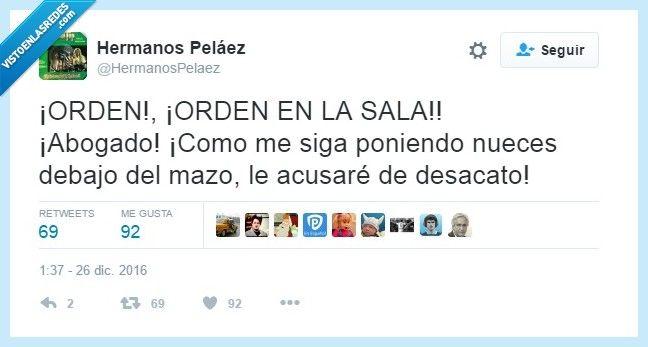 Abogados con ganas de broma por @HermanosPelaez   Gracias a http://www.vistoenlasredes.com/   Si quieres leer la noticia completa visita: http://www.estoy-aburrido.com/abogados-con-ganas-de-broma-por-hermanospelaez/