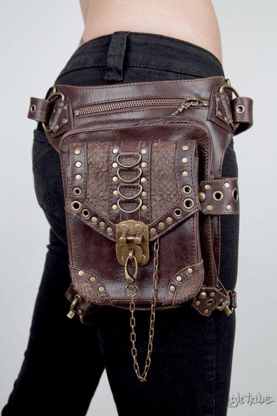blaster 3 0 brown leather shoulder holster and hip bag. Black Bedroom Furniture Sets. Home Design Ideas