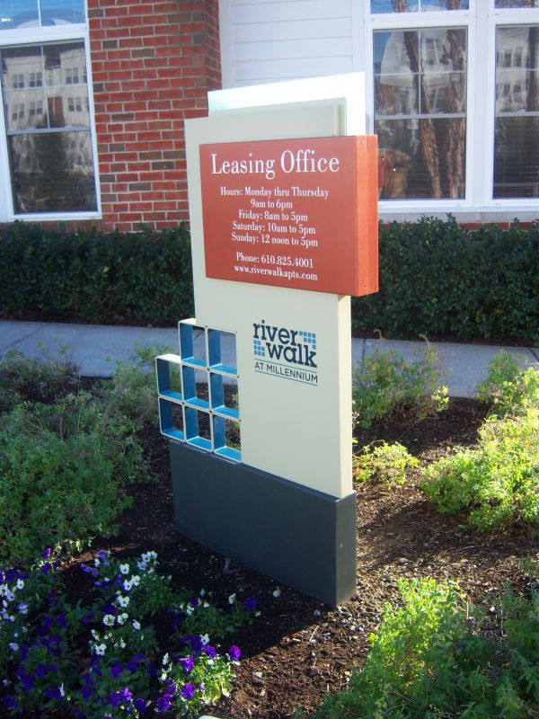 Building Identification Signs | Sign ideas | Apartment ...