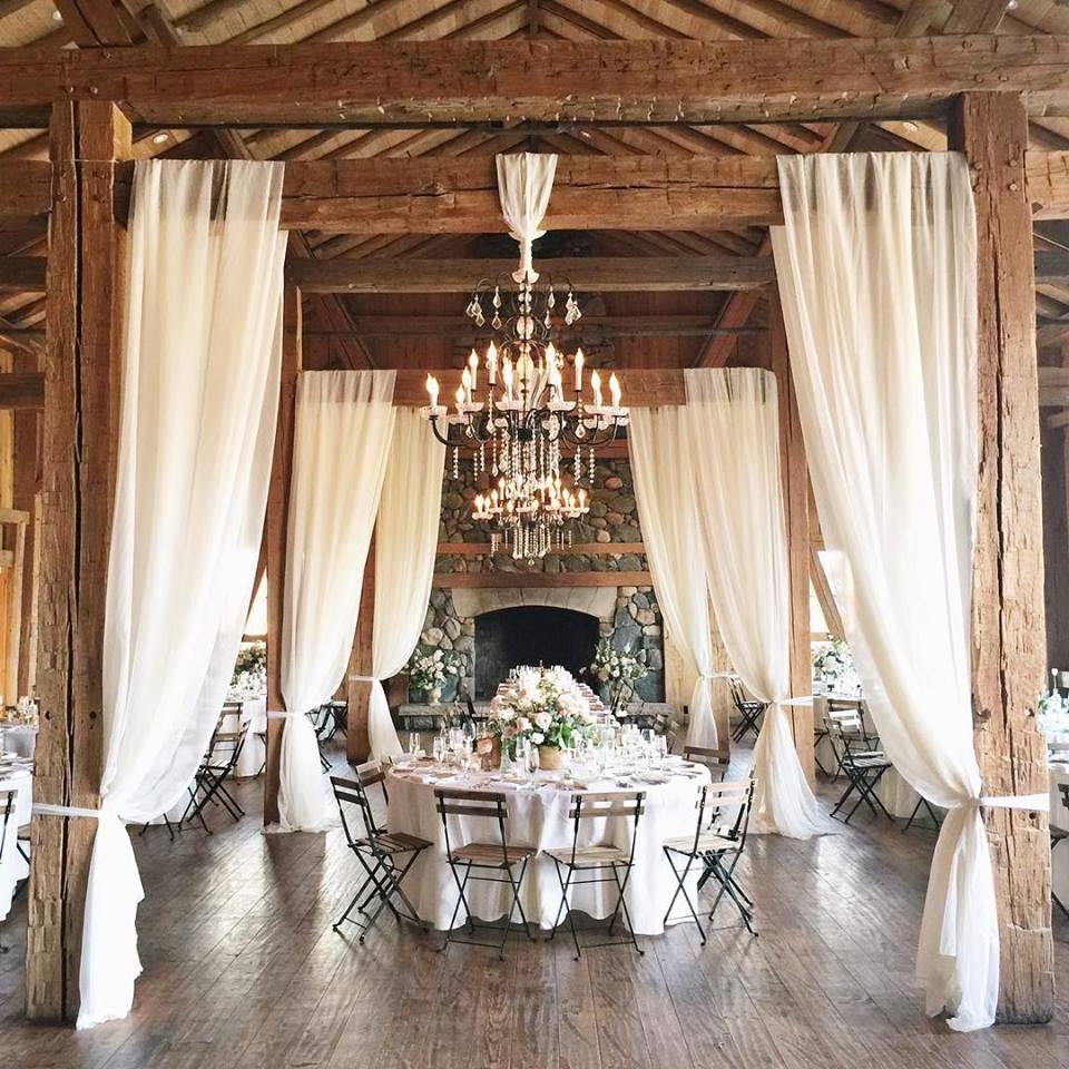 Barn Wedding Reception Decor: Shannon Von Eschen Photography
