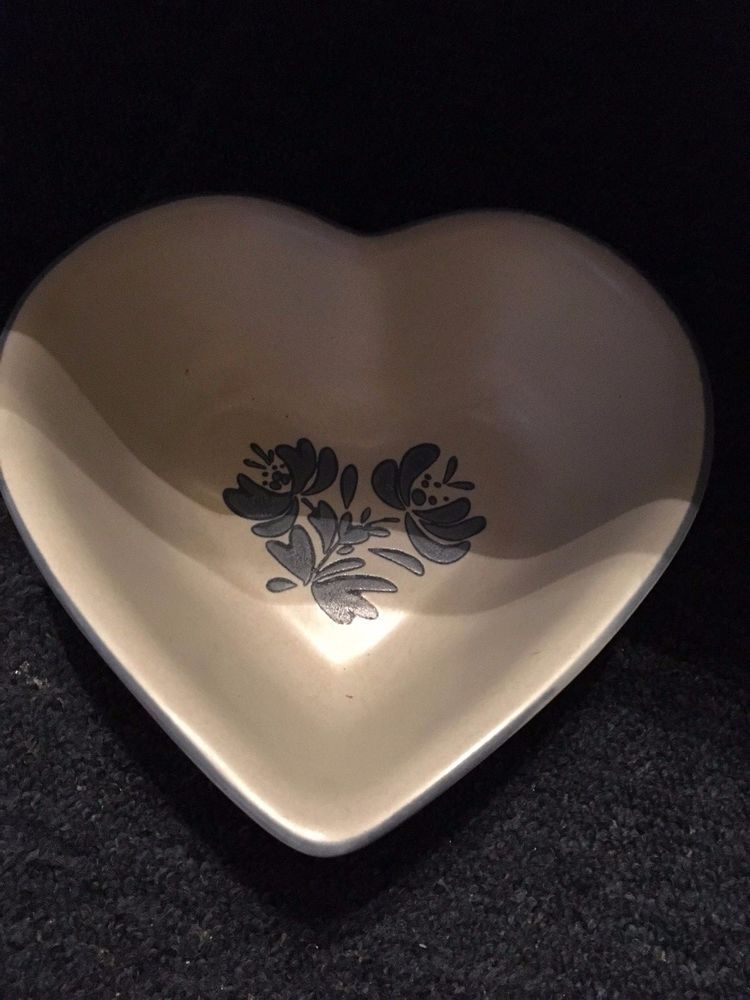 PFALTZGRAFF USA YORKTOWNE HEART SHAPED SERVING BOWL+DINNER PLATES HEAVY DUTY #PFALTZGRAFF & PFALTZGRAFF USA YORKTOWNE HEART SHAPED SERVING BOWL+DINNER PLATES ...