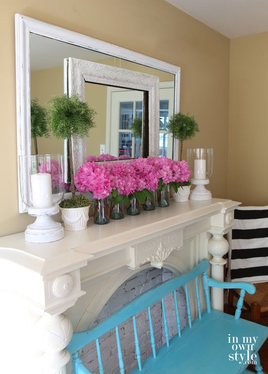 Summer Tour Of Homes 2014 | Summer and Mantels
