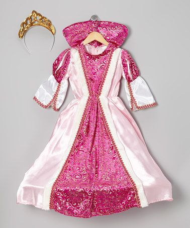 Take A Look At This Pink Regal Queen Dress Up Set Toddler Kids By Dress Up America On Zulily Today Princess Dress Up Princess Tutu Dresses Queen Dress