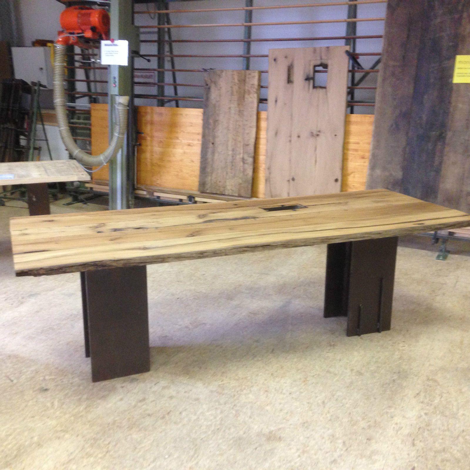 Details zu Altholztisch Tisch Altholz, alte Eiche, rustikal massiv ...