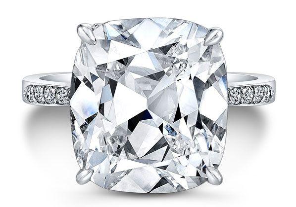 Platinum Cushion Diamond Ring - Rahaminov Diamonds - Product Search - JCK Marketplace