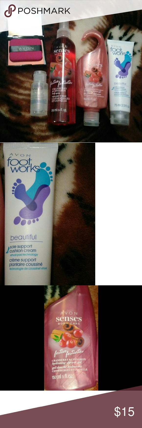 Avon mix Avon mix 5 items...foot cream, facial water