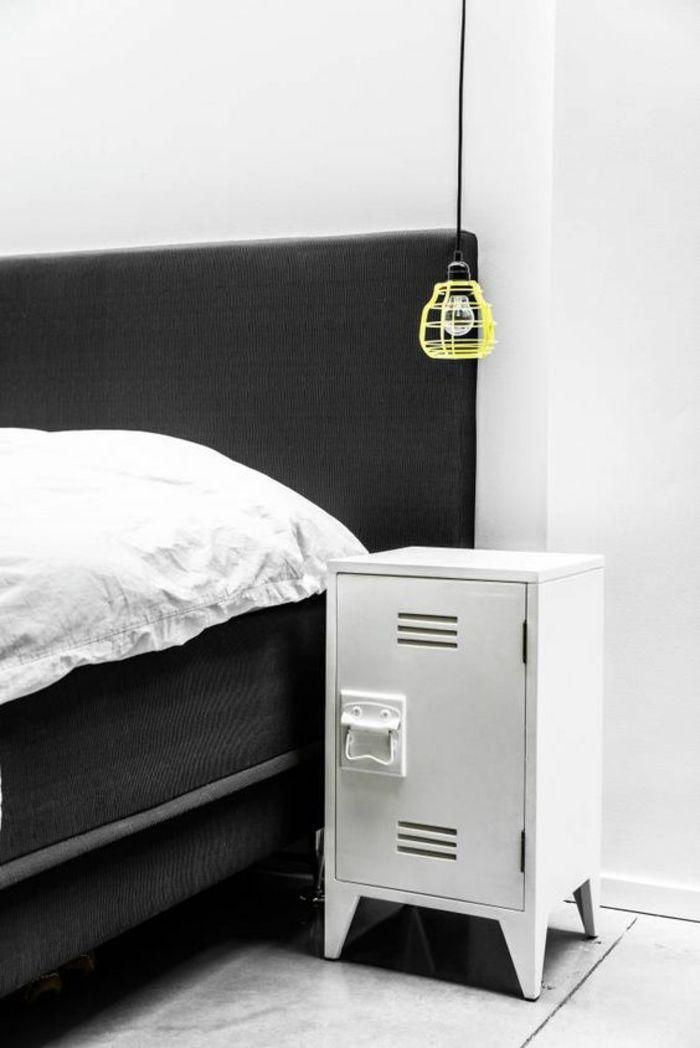 1001 id es pour une lampe de chevet suspendue dans la chambre coucher lampes pinterest - Lampe pour chambre a coucher ...