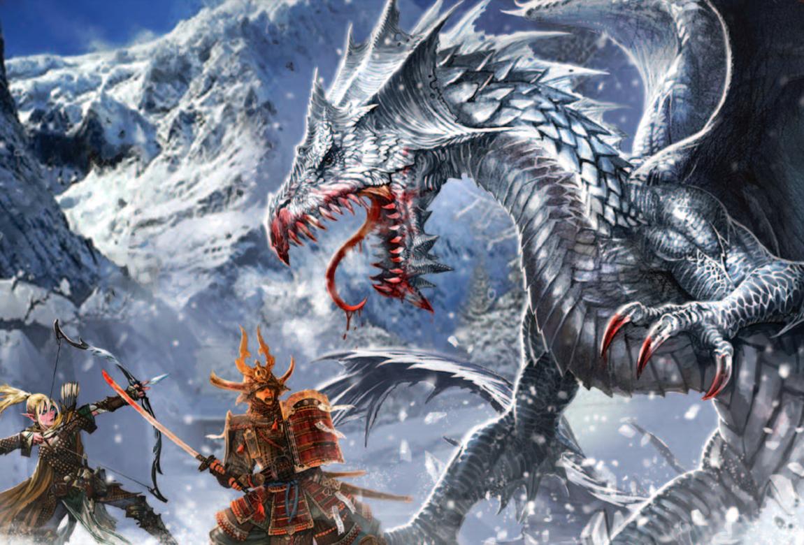 Dnd White Dragon: Pathfinder PFRPG DND D&D 3.5 5E 5th