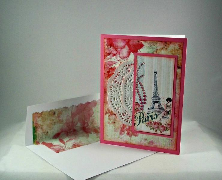 LOVEFEST2014K Paris love by eyelike2cook - Cards and Paper Crafts at Splitcoaststampers