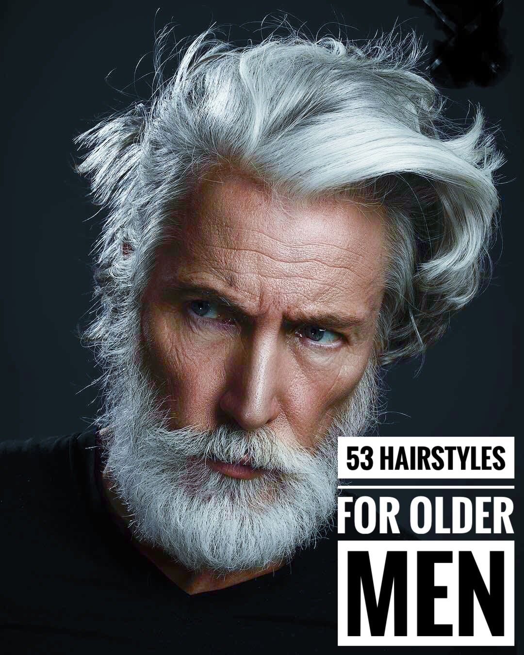 12 Magnificent Hairstyles for Older Men  Older mens hairstyles