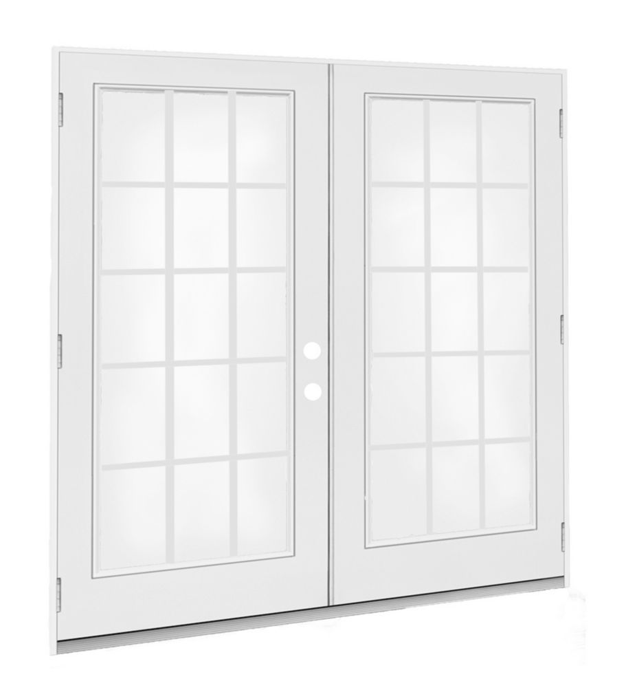 5 Ft French Door 15 Lite Door Glass Lowe Argon Lh Outswing 4