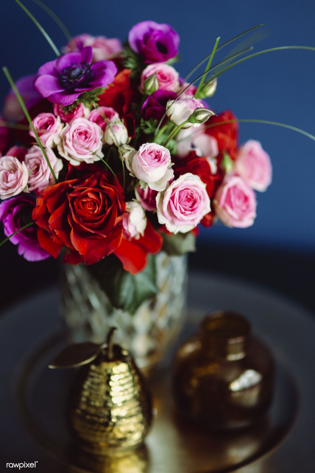 A Beautiful Bouquet Of Flowers Free Image By Rawpixel