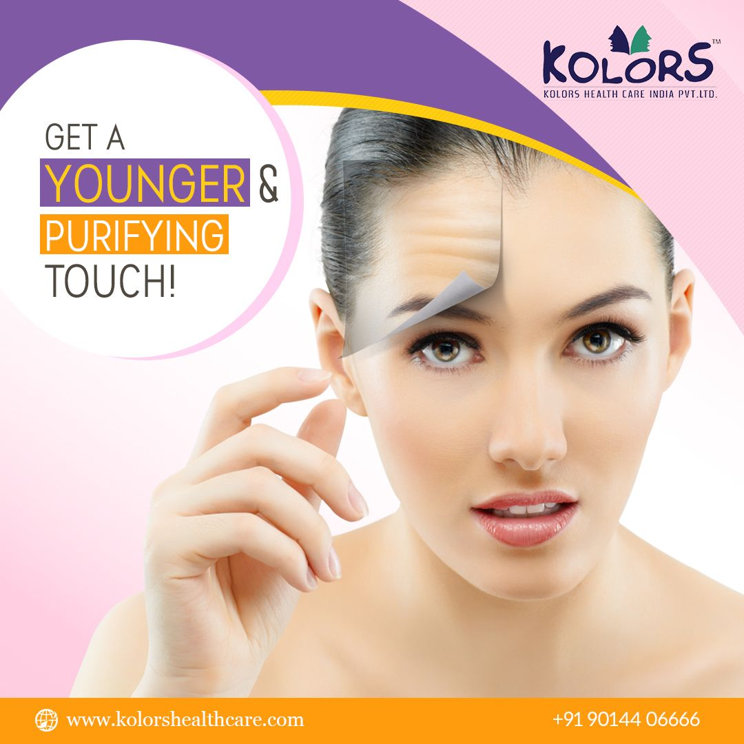 A customized AntiWrinkles therapy from Kolors that is