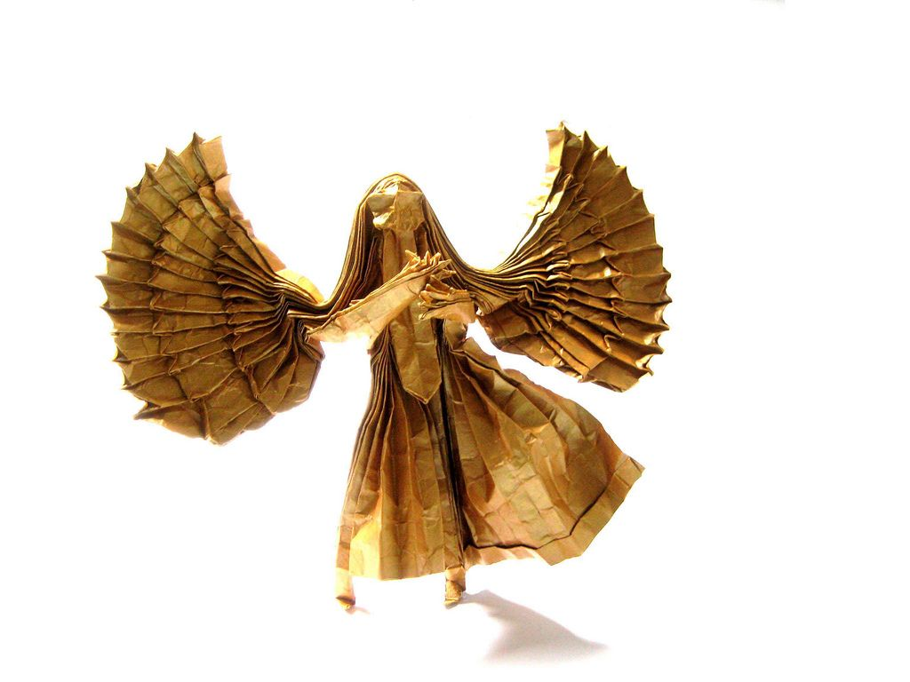 Archangel - Designed and Folded by me by origamirizzo