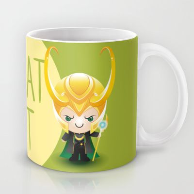 I Do What I Want - Loki Mug by Olivia Desianti - $15.00