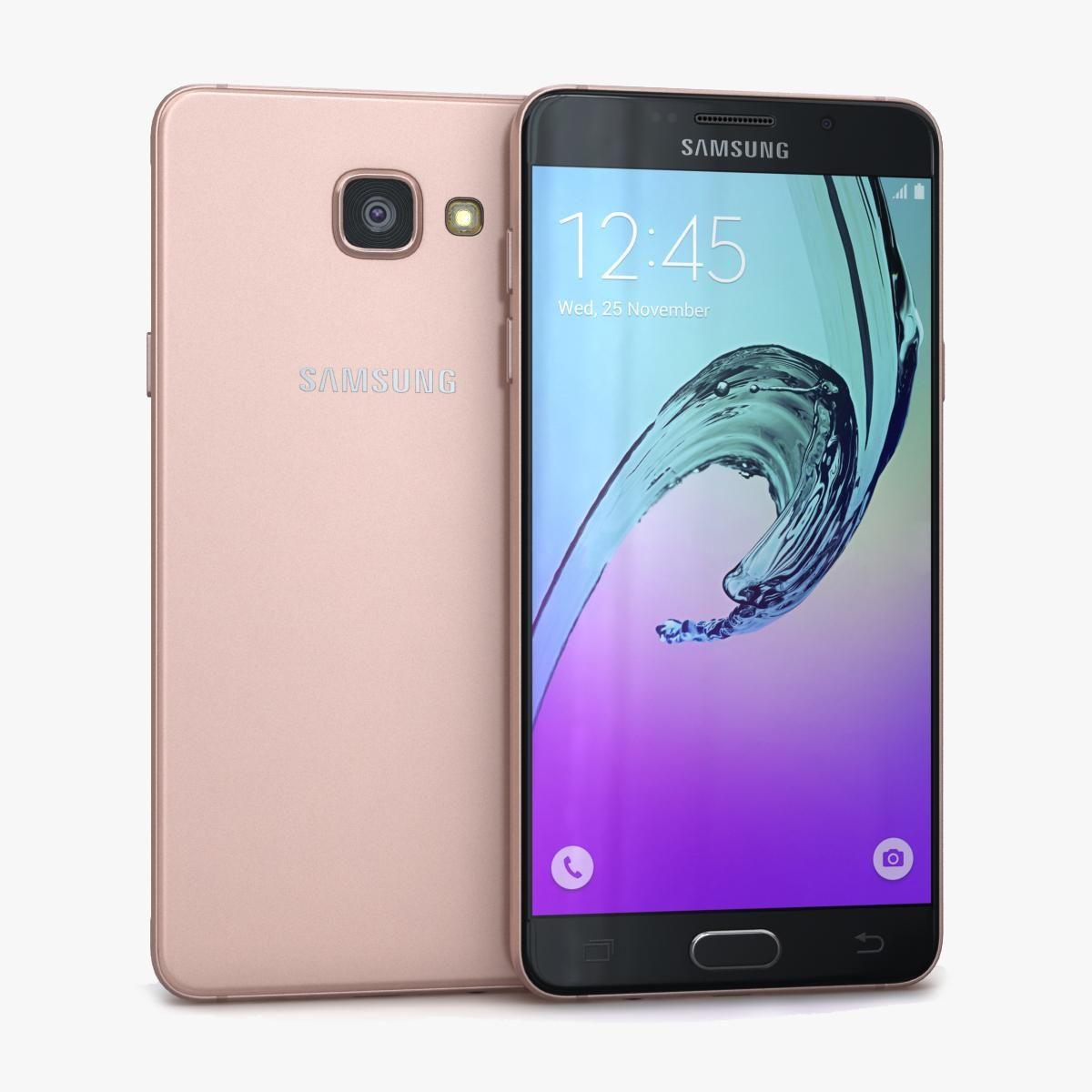 Samsung Galaxy A5 2016 Pink 3D Model ,#Galaxy#Samsung#Model#Pink