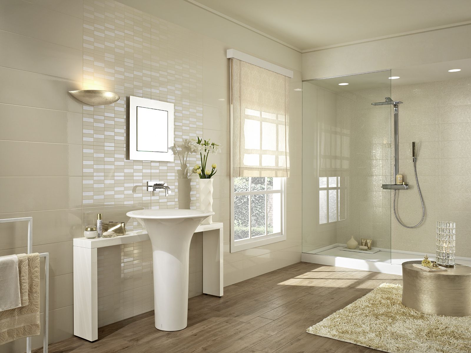 Colourline - polished tiles for bathroom wall coverings | Marazzi ...
