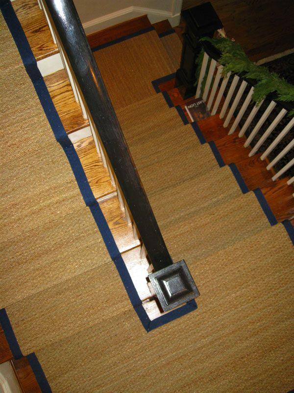 Best Custom Seagrass Stair Runner Washington Dc Rugs On 640 x 480