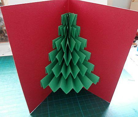 Kerstboom Kaart Maken Kerstboom