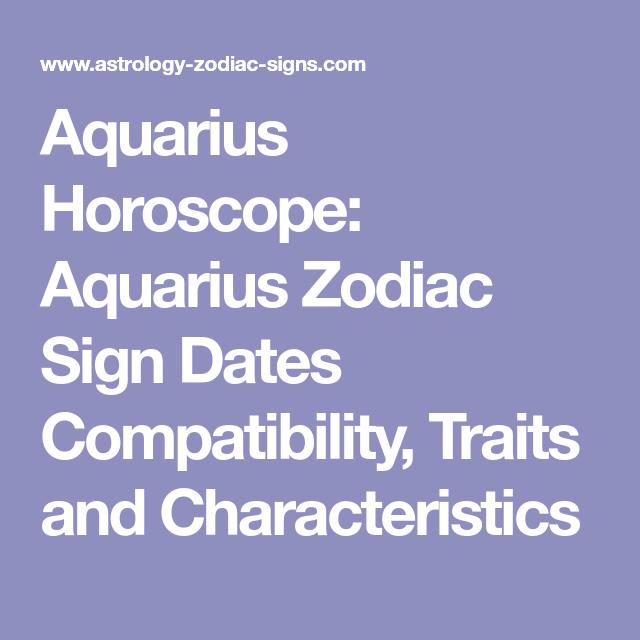 Zodiac dates compatibility