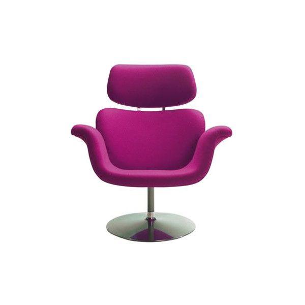 Artifort Tulip Chair ($3,758) found on Polyvore