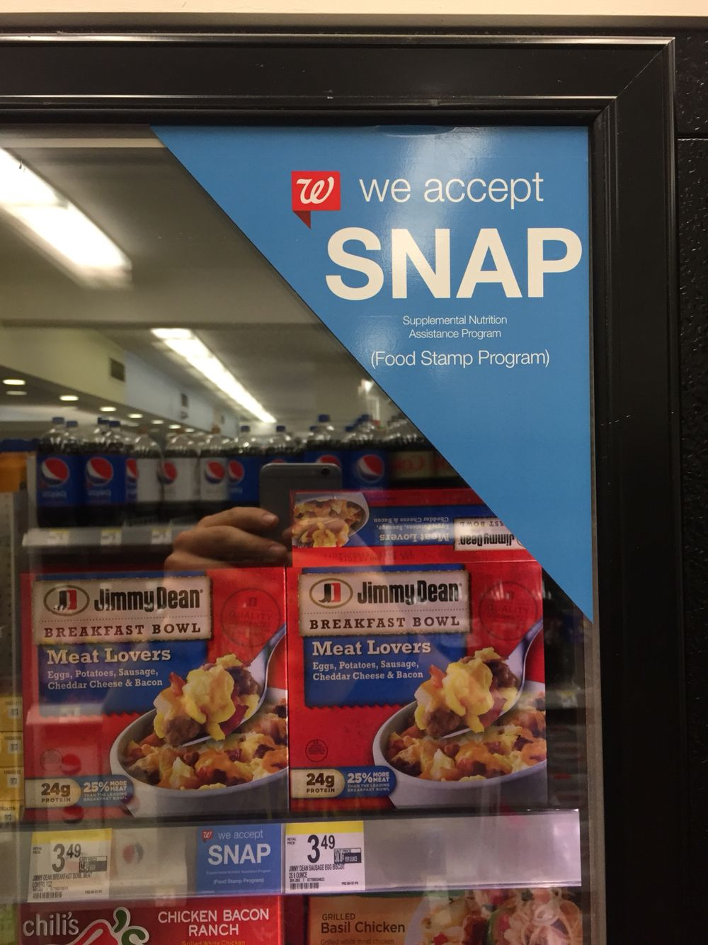 Snap food stamps to purchase selected foods breakfast