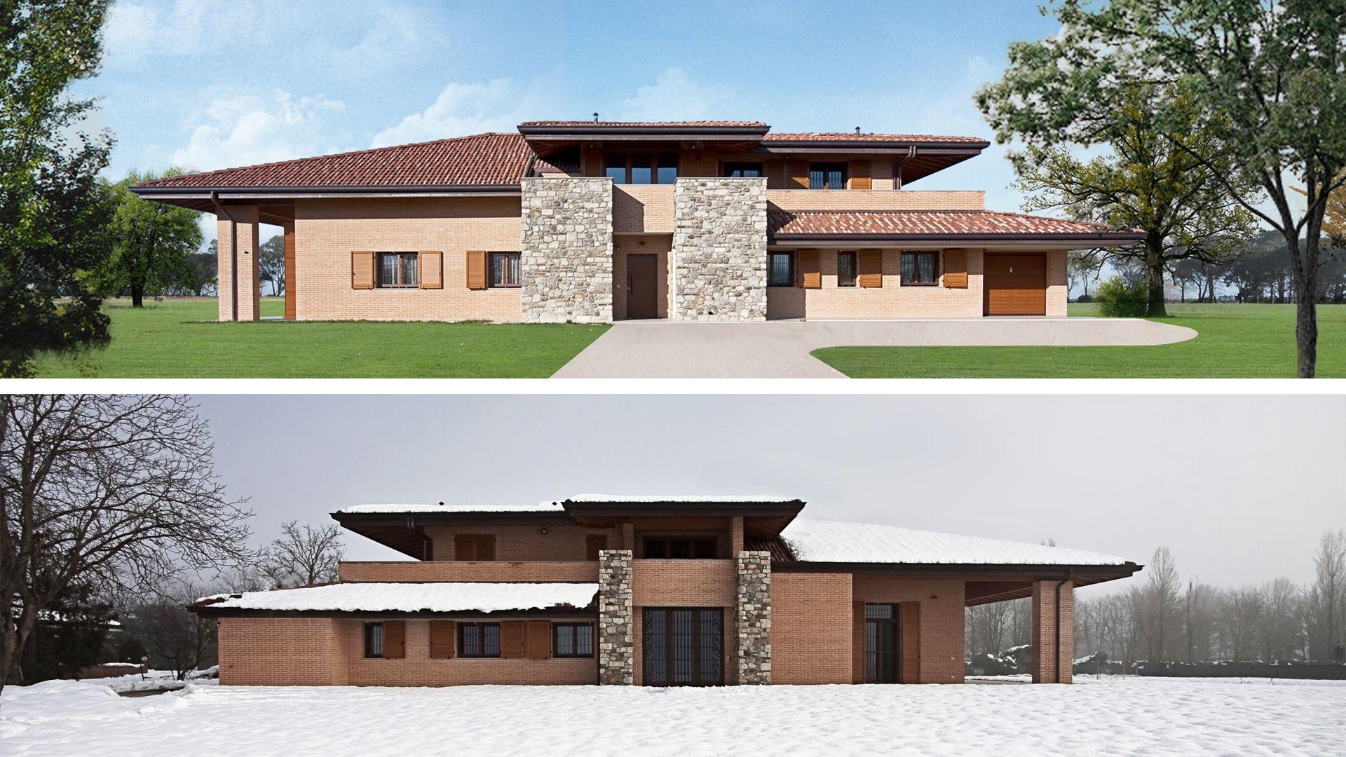 Ville di campagna progetti simple villa residenze di for Ville in campagna progetti