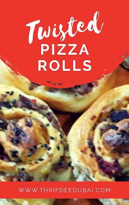 Twisted Pizza Rolls  Ready for a break from the norm    pizzatwistedrecipesfoodieinfograpicmydubaipizzatime