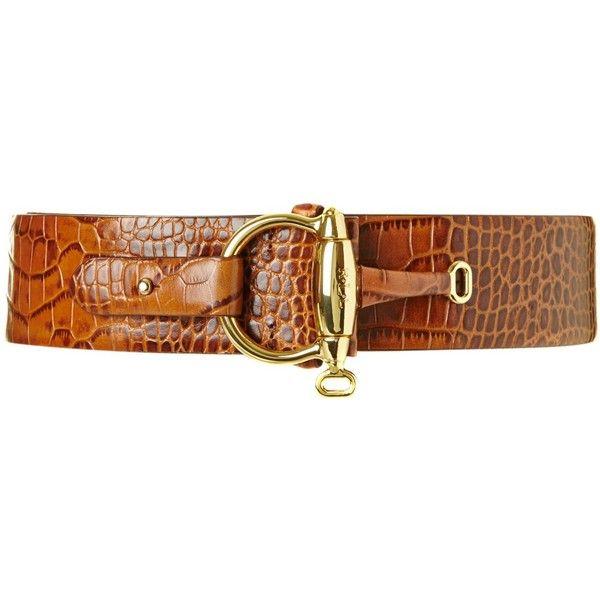 Lauren by Ralph Lauren Equestrian Brown belt