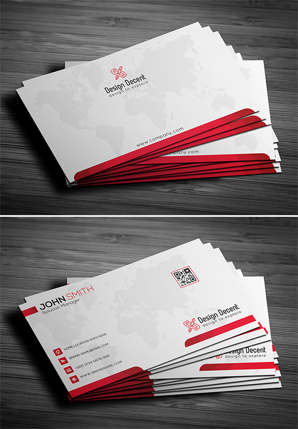 Free Download Attractive Fresh Business Card PSD Template ...