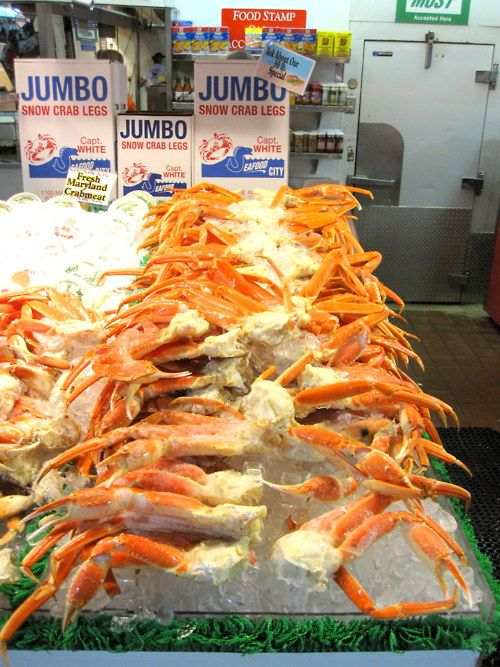 JUMBO CRAB LEGS - Captain White's Seafood - Washington, DC | A T E