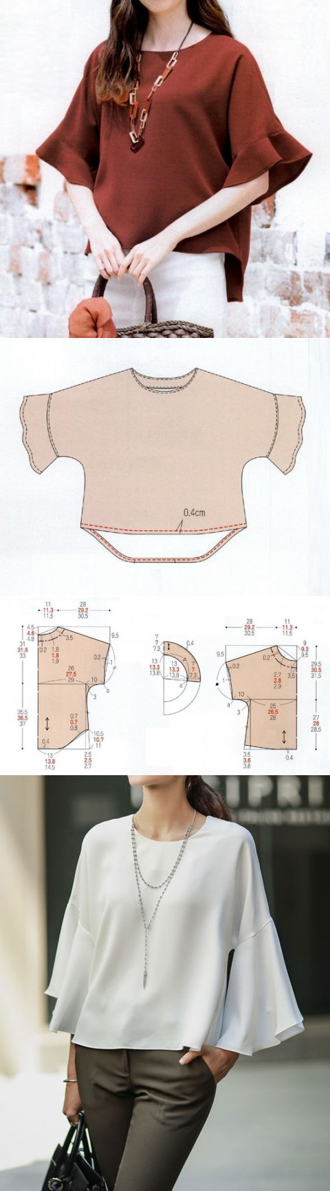 Шитье простые выкройки | costura | Pinterest | Costura, Costurar ...