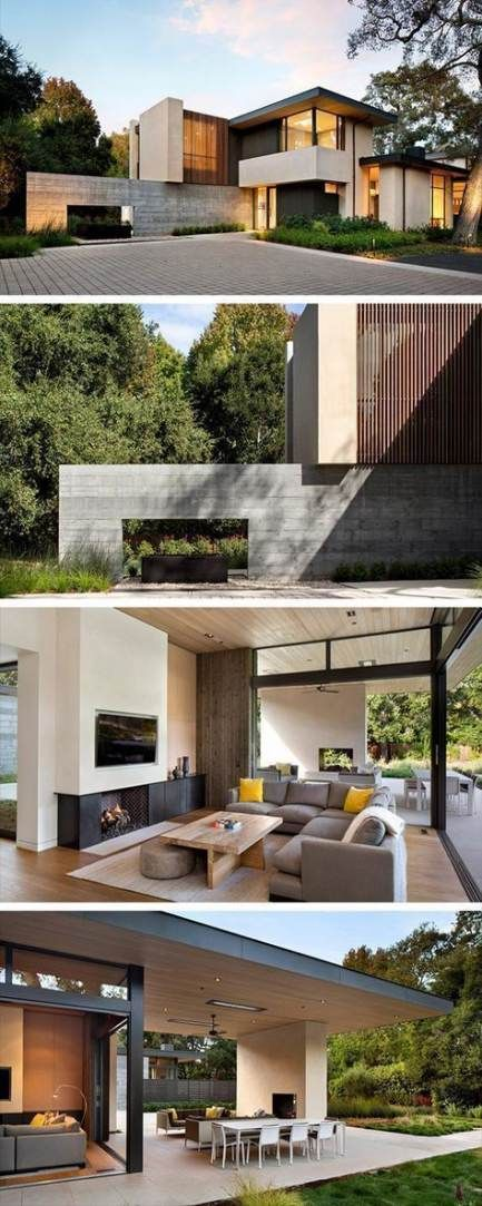 28 Best Ideas For Contemporary Wood Architecture Home Facade House House Designs Exterior Architecture