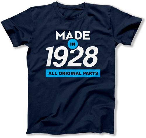 90th Birthday Gift Ideas For Him Gifts Her Shirt Present B Day Made In 19