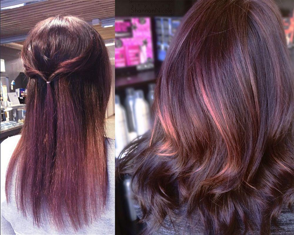 Chocolate Mauve Hair Hair Coloring Ideas Fantasy Hair