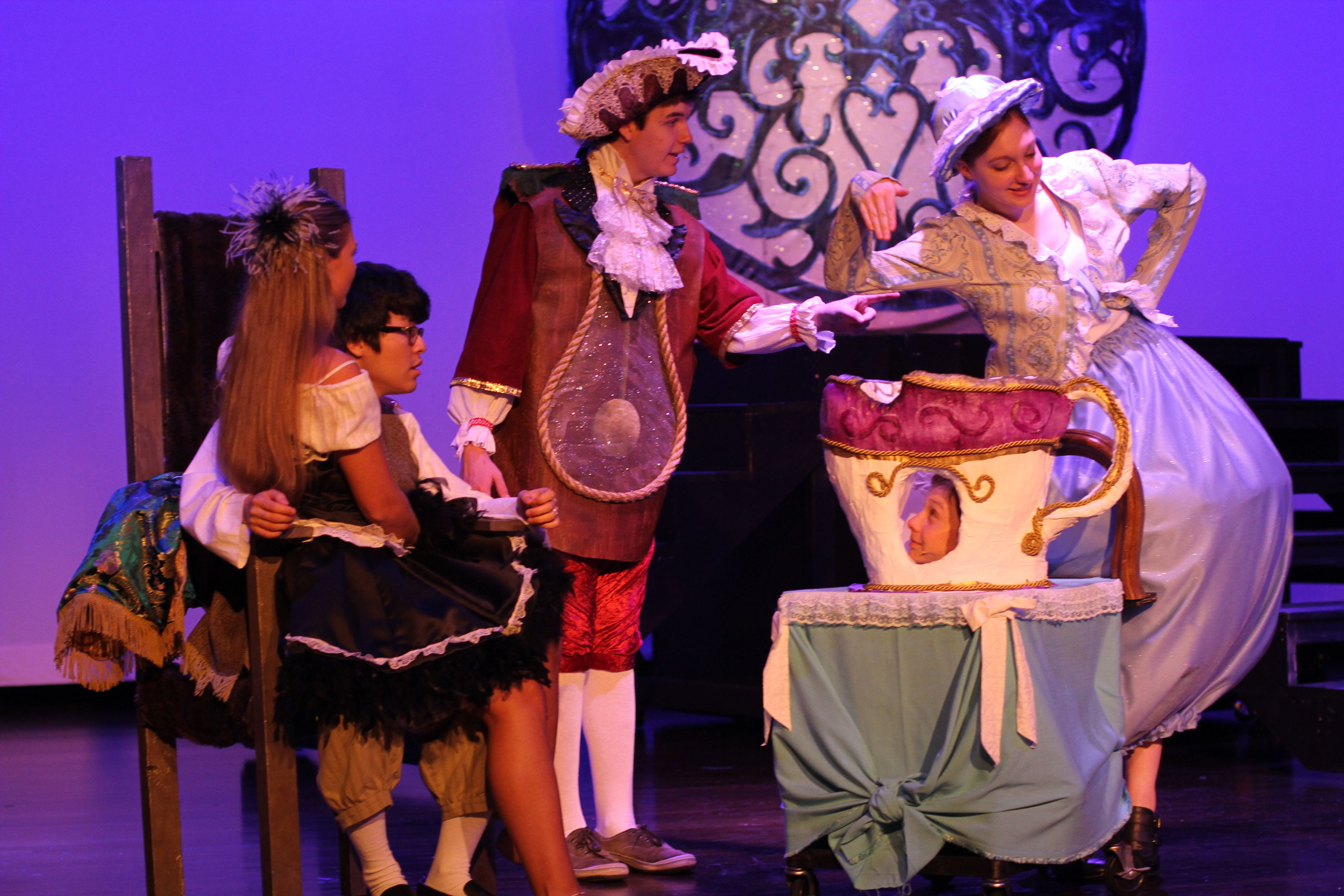 Beauty and the Beast Performing arts school, Performance