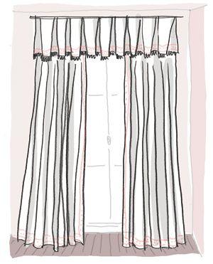 Vente au rabais 2019 premier coup d'oeil styles classiques Donnez du style à vos rideaux | TISSUS RIDEAUX TAPISSIER ...
