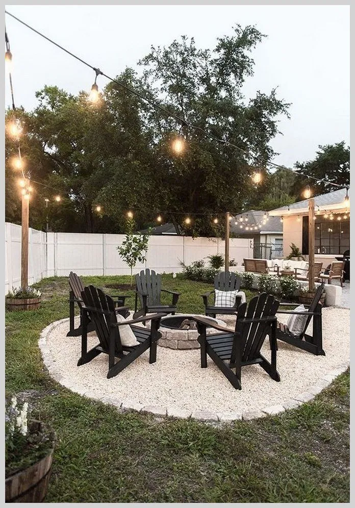 ❤25 Amazing Fire Pit Ideas & Cozy Sitting Set Area to Make Happy with Your Fam…