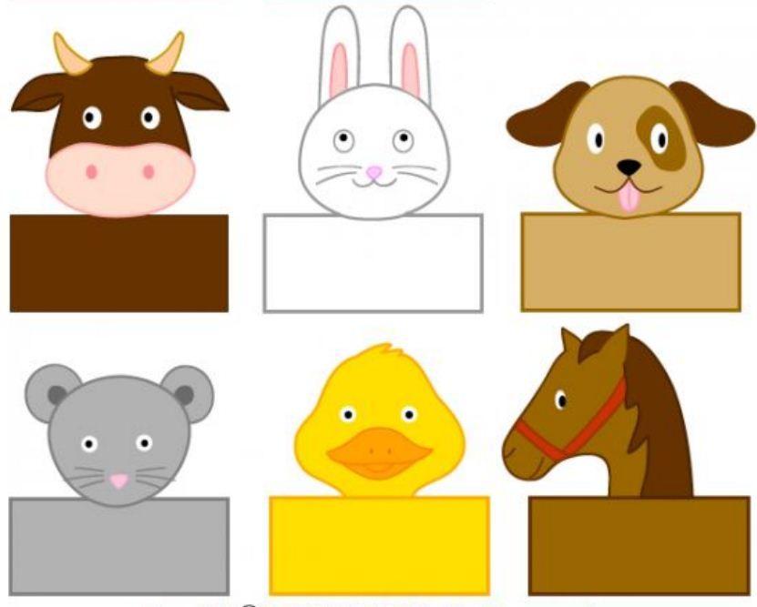 Divertidos Titeres de papel para hacer con los niños | Actividades ...