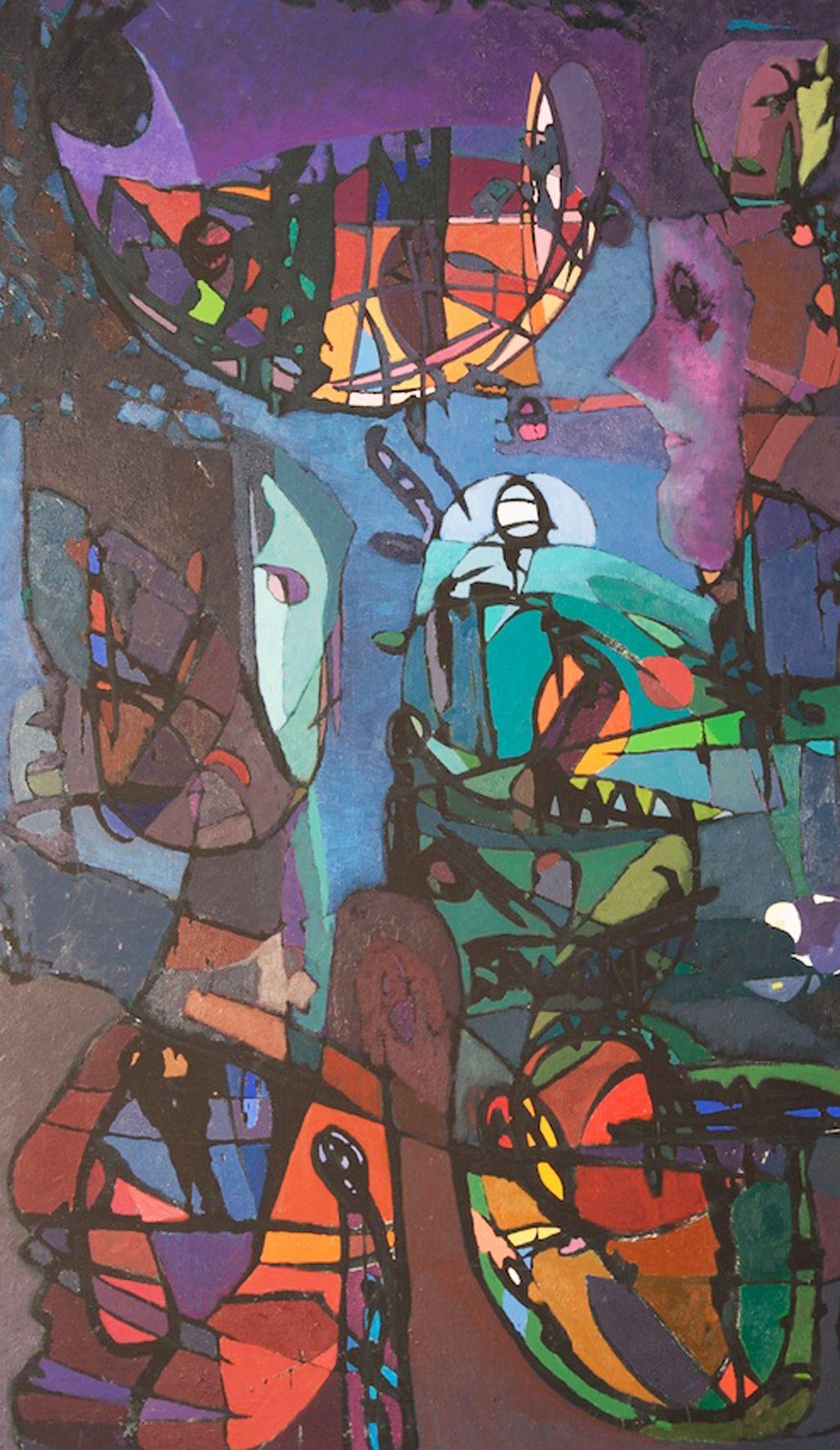 Enos Lovatt – painting 1970s