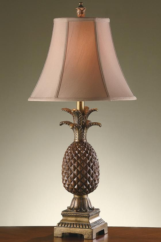 Pineapple Table Lamp Pineapple Lamp Tropical Table Lamps Traditional Table Lamps Tropical Table Lamps Lamp Table Lamp