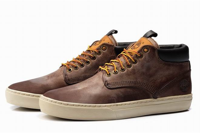 News Timberland Mens Casual Shoes Brown
