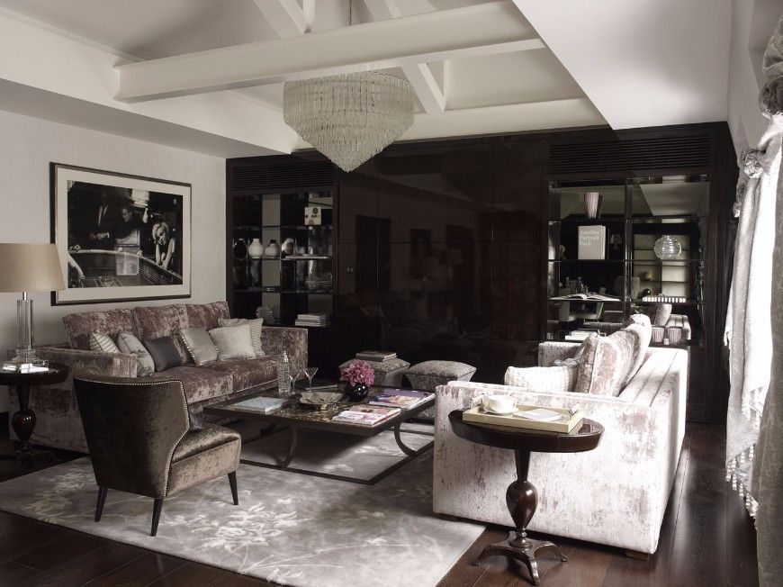 How To Decorate A Sophisticated Living Room Set Like Oliver Burns Sophisticated Living Rooms