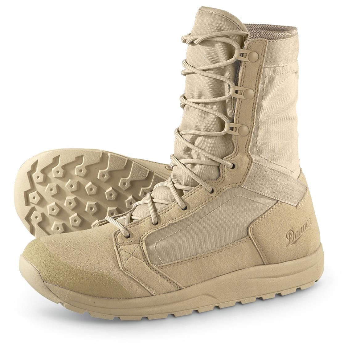 Danner Tachyon Lightweight Tactical Boots, Tan | Mens