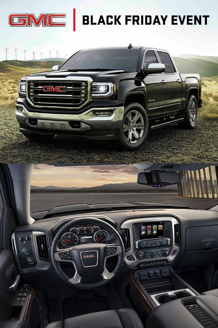 During Gmc S Black Friday Event Get A Great Deal On Select 2018