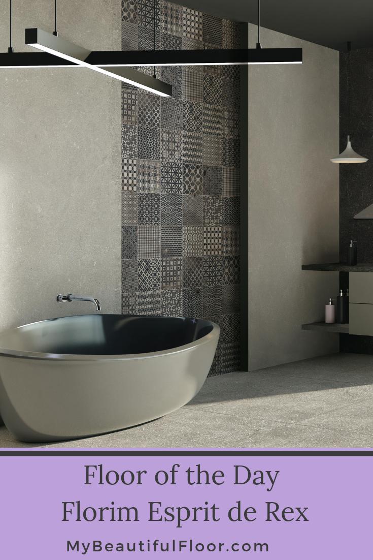 Floor Of The Day Florim Usa Esprit De Rex Porcelain Tile Flooroftheday Ihavethisthingwithfloors Floorlov Ceramic Tiles Ceramic Floor Tiles Tiles